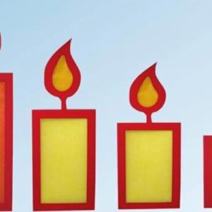 Bastelaktion: Kerzenschein