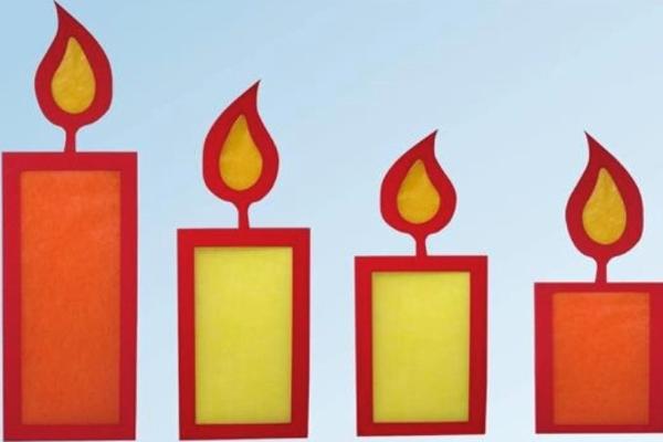 Bastelaktion 2020: Kerzenschein