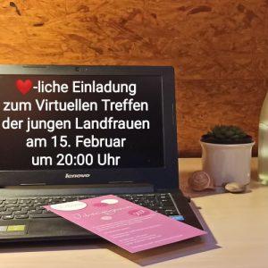 Virtuelles Treffen der jungen LandFrauen der LandFrauenvereine des Bezirks Markgröningen